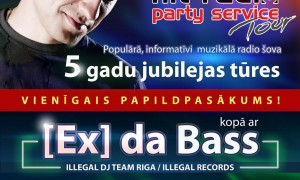 Party Service Tour Extra Velntspils afisha medijiem