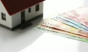 stock-footage-little-house-with-house-key-and-euro-money-house-and-money