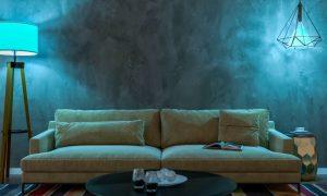 Lampas materiāla ietekme uz apgaismojumu
